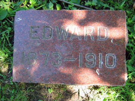 KONIGSMARK, EDWARD - Linn County, Iowa   EDWARD KONIGSMARK