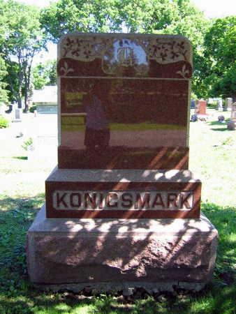 KONIGSMARK, FAMILY STONE - Linn County, Iowa | FAMILY STONE KONIGSMARK