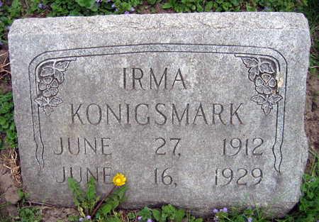 KONIGSMARK, IRMA - Linn County, Iowa | IRMA KONIGSMARK