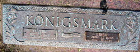 KONIGSMARK, LESTER - Linn County, Iowa   LESTER KONIGSMARK
