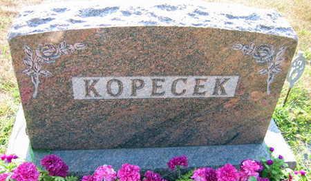 KOPECEK, FAMILY STONE - Linn County, Iowa | FAMILY STONE KOPECEK