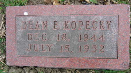 KOPECKY, DEAN E. - Linn County, Iowa | DEAN E. KOPECKY