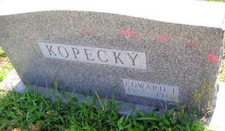 KOPECKY, EDWARD F. - Linn County, Iowa   EDWARD F. KOPECKY