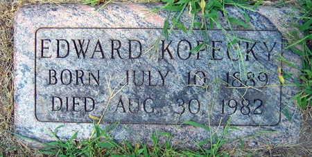 KOPECKY, EDWARD - Linn County, Iowa | EDWARD KOPECKY