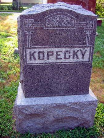 KOPECKY, FAMILY STONE - Linn County, Iowa   FAMILY STONE KOPECKY