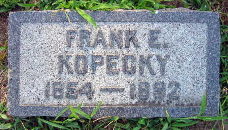 KOPECKY, FRANK E. - Linn County, Iowa | FRANK E. KOPECKY