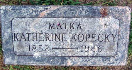 KOPECKY, KATHERINE - Linn County, Iowa | KATHERINE KOPECKY