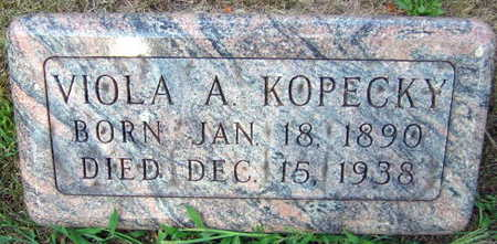 KOPECKY, VIOLA A. - Linn County, Iowa | VIOLA A. KOPECKY