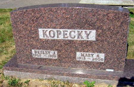 KOPECKY, WESLEY J. - Linn County, Iowa | WESLEY J. KOPECKY