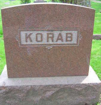 KORAB, FAMILY STONE - Linn County, Iowa   FAMILY STONE KORAB