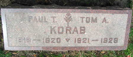 KORAB, TOM A. - Linn County, Iowa | TOM A. KORAB