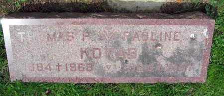 KORAB, THOMAS P. - Linn County, Iowa   THOMAS P. KORAB