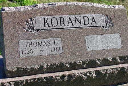 KORANDA, THOMAS L. - Linn County, Iowa | THOMAS L. KORANDA