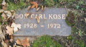 KOSEK, CARL - Linn County, Iowa | CARL KOSEK