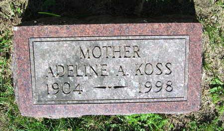 KOSS, ADELINE A. - Linn County, Iowa | ADELINE A. KOSS