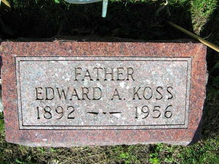 KOSS, EDWARD A. - Linn County, Iowa | EDWARD A. KOSS