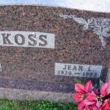 KOSS, JEAN L. - Linn County, Iowa | JEAN L. KOSS