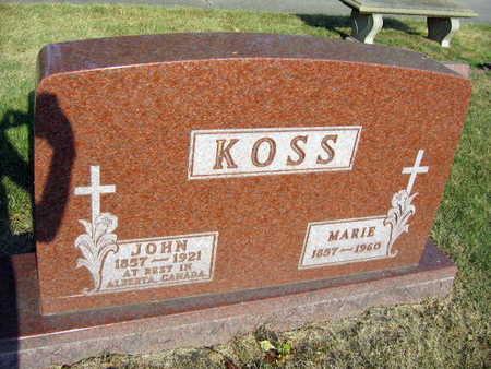 KOSS, JOHN - Linn County, Iowa | JOHN KOSS