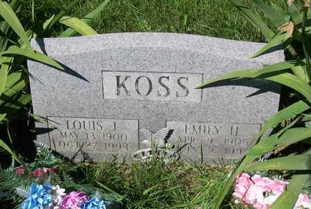KOSS, LOUIS J. - Linn County, Iowa | LOUIS J. KOSS