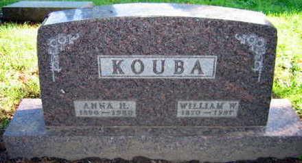 KOUBA, WILLIAM W. - Linn County, Iowa   WILLIAM W. KOUBA