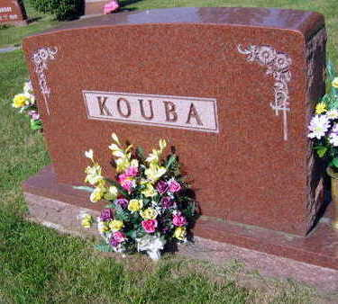 KOUBA, FAMILY STONE - Linn County, Iowa | FAMILY STONE KOUBA