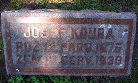 KOUBA, JOSEF - Linn County, Iowa | JOSEF KOUBA
