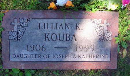 KOUBA, LILLIAN K. - Linn County, Iowa | LILLIAN K. KOUBA