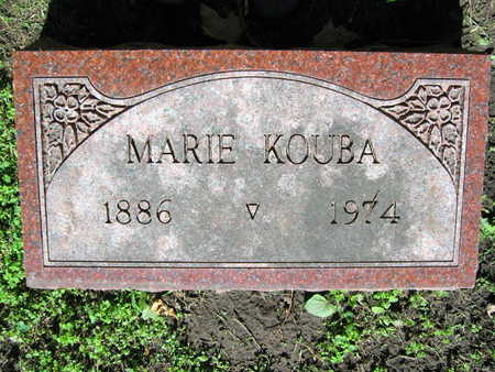 KOUBA, MARIE - Linn County, Iowa | MARIE KOUBA