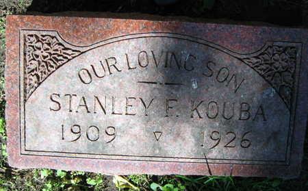 KOUBA, STANLEY F. - Linn County, Iowa | STANLEY F. KOUBA