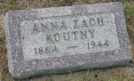 KOUTNY, ANNA - Linn County, Iowa | ANNA KOUTNY