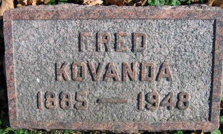 KOVANDA, FRED - Linn County, Iowa | FRED KOVANDA