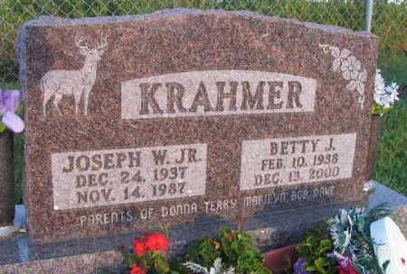 KRAHMER, BETTY J. - Linn County, Iowa | BETTY J. KRAHMER