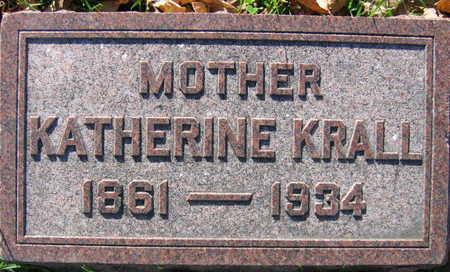 KRALL, KATHERINE - Linn County, Iowa | KATHERINE KRALL