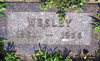KRALL, WESLEY - Linn County, Iowa   WESLEY KRALL