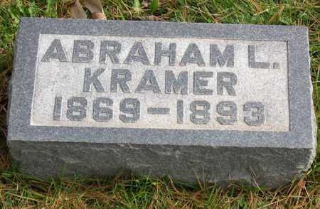KRAMER, ABRAHAM L. - Linn County, Iowa | ABRAHAM L. KRAMER