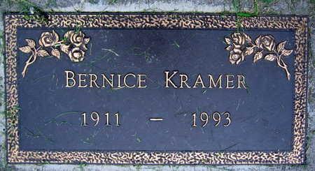 KRAMER, BERNICE - Linn County, Iowa | BERNICE KRAMER