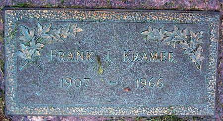 KRAMER, FRANK J. - Linn County, Iowa | FRANK J. KRAMER