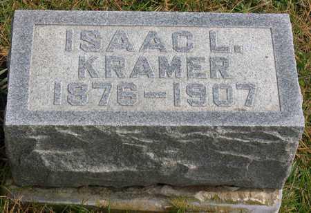 KRAMER, ISAAC L. - Linn County, Iowa   ISAAC L. KRAMER
