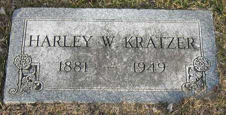 KRATZER, HARLEY W. - Linn County, Iowa   HARLEY W. KRATZER