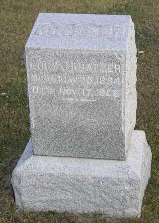 KRATZER, LUCY J. - Linn County, Iowa | LUCY J. KRATZER