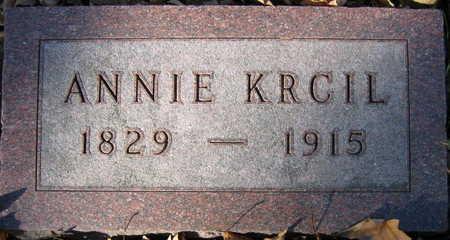 KRCIL, ANNIE - Linn County, Iowa   ANNIE KRCIL