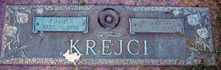 KREJCI, FRANCES - Linn County, Iowa | FRANCES KREJCI
