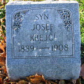 KREJCI, JOSEF - Linn County, Iowa | JOSEF KREJCI