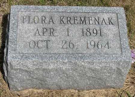 KREMENAK, FLORA - Linn County, Iowa | FLORA KREMENAK