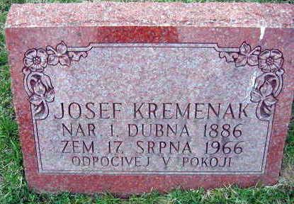 KREMENAK, JOSEF - Linn County, Iowa | JOSEF KREMENAK