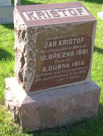KRISTOF, JAN - Linn County, Iowa   JAN KRISTOF