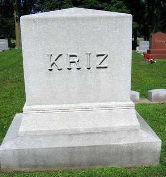 KRIZ, FAMILY STONE - Linn County, Iowa | FAMILY STONE KRIZ