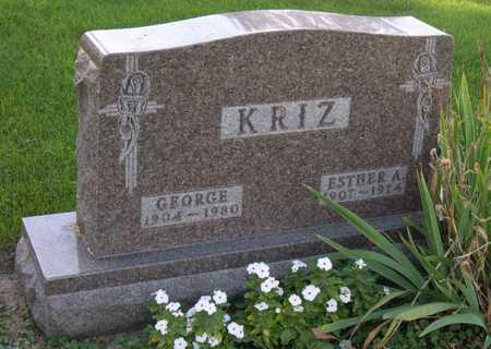 KRIZ, GEORGE - Linn County, Iowa | GEORGE KRIZ
