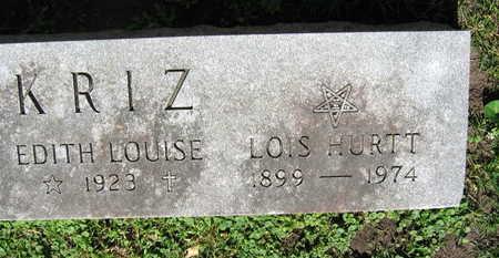 KRIZ, LOIS HURTT - Linn County, Iowa | LOIS HURTT KRIZ