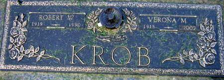 KROB, VERONA M. - Linn County, Iowa | VERONA M. KROB